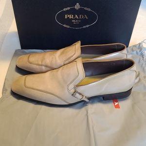 NEW- PRADA MILANO Loafers- Size 12